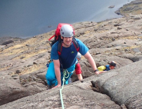 Dubh Ridge and T-D Gap