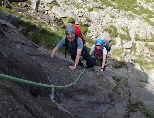 Introduction to Roped Scrambling in Cwm Idwal