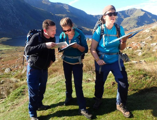 Fine Day with the ML Course in the Carneddau