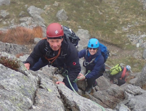 Tryfan's Pinnacle Scramble