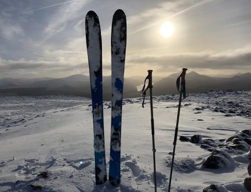 Beinn Teallach Ski Tour