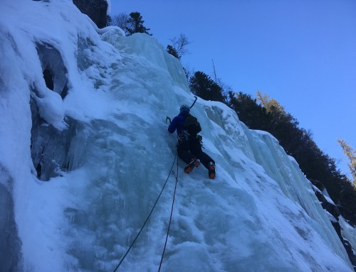 Ace ice in Rjukan