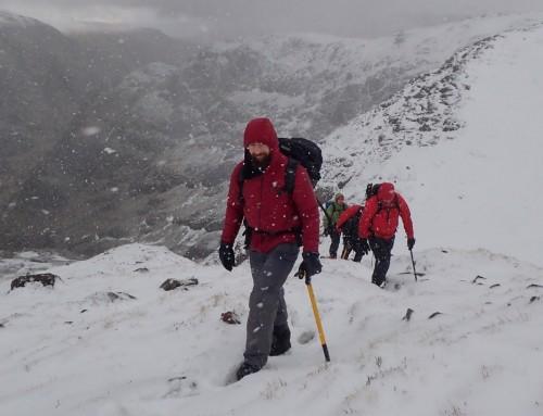 Snowier Day in Stob Coire nan Lochan