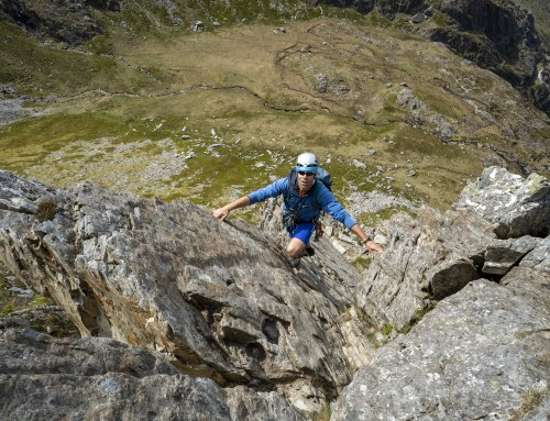 Idwal Buttress and Cneifion Arete