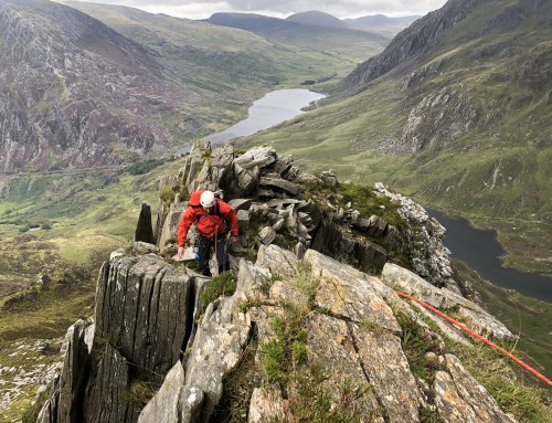 Learning to lead – East Ridge of Y Garn