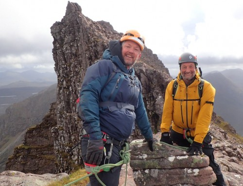 Bright and Breezy on An Teallach