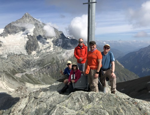Swiss 3000 summits week