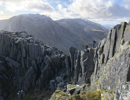 North Ridge of Tryfan – Intro to Scrambling