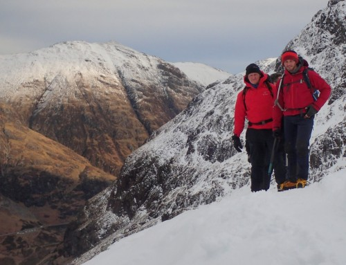 All About Snow in Stob Coire nan Lochan