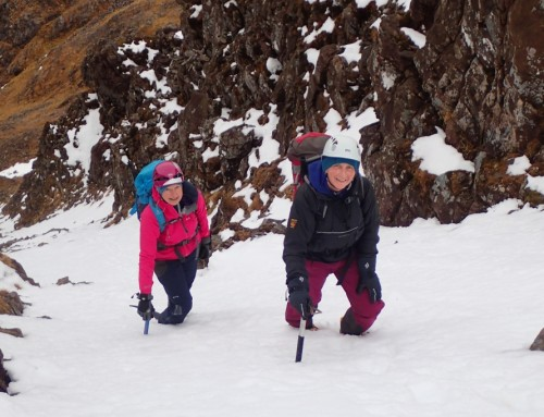 Snow Hunting again on Fuar Tholl
