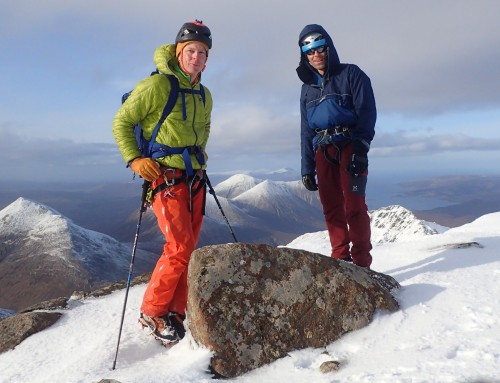 New Film – The Clach Glas, Blaven Traverse (Skye) in winter