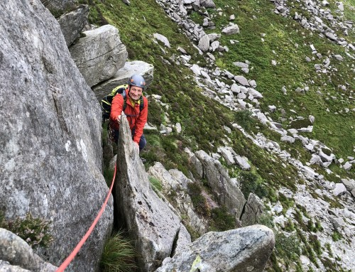 Tryfan Scrambling Day