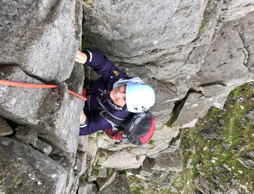 Ogwen Scrambling Link Up with Rachel